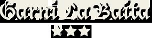 logo garni la baita 3 stelle